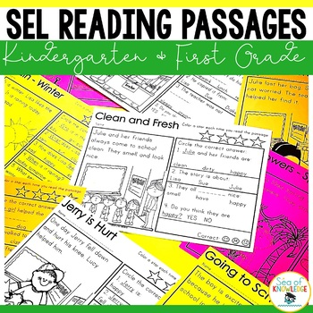 Back to School Reading Comprehension Passages Dictation Booklets