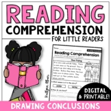 Reading Comprehension Passages - Drawing Conclusions [Little Readers]