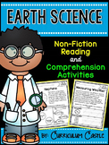 Reading Comprehension Passages: EARTH SCIENCE Edition!