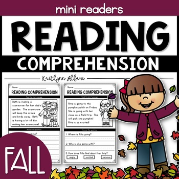 Reading Comprehension Passages - Fall Minis