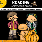 Reading Comprehension Passages| Fall-Themed