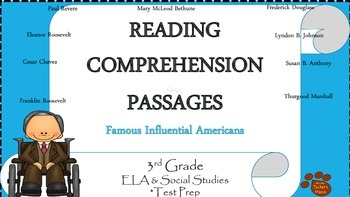 Reading Comprehension Passages Famous Influential American-