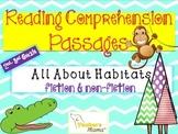 Reading Comprehension Passages (Fiction & Non-Fiction abou