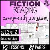 Reading Comprehension Passages {Fiction Set 2/2} Independe