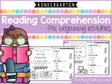 Kindergarten Reading Comprehension for Beginning Readers (Multiple Choice)