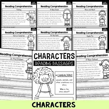 Reading Comprehension Passages GROWING BUNDLE - Story Elements
