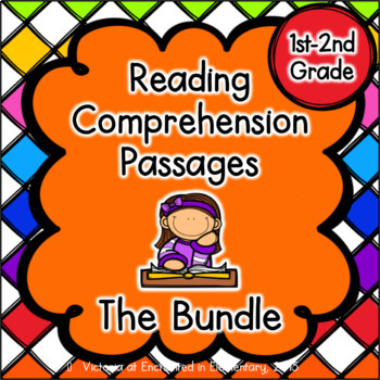 Reading Comprehension Passages- Growing Bundle