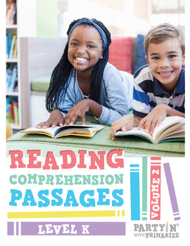 Reading Comprehension Passages: Guided Reading Level K Volume 2