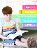 Reading Comprehension Passages: Guided Reading Level L