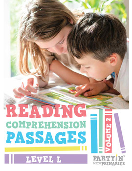 Reading Comprehension Passages: Guided Reading Level L Volume 2