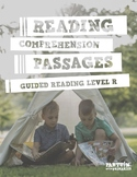 Reading Comprehension Passages: Guided Reading Level R - Distance Learning