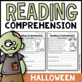 Reading Comprehension Passages - Halloween/Fall