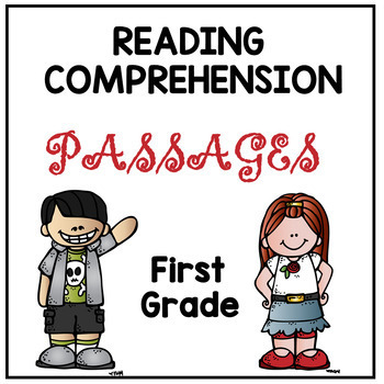 First Grade Reading Comprehension Passages by Dana's Wonderland | TpT
