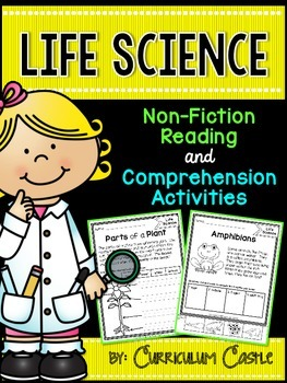 Reading Comprehension Passages: LIFE SCIENCE Edition!