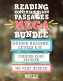 Reading Comprehension MEGA Bundle: Guided Reading C-K - Di