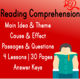 Reading Comprehension Passages III | Main Idea & Theme | C