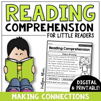 Reading Comprehension Passages - Making Connections [Little Readers]