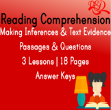 Reading Comprehension Passages I | Making Inferences & Tex