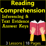 Reading Comprehension Passages | Making Inferences & Text
