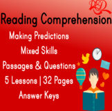 Reading Comprehension Passages IV | Making Predictions | M