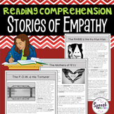 Reading Comprehension Passages & Questions: Stories of Empathy