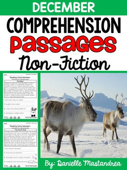 Reading Comprehension Passages {Non-Fiction- December}