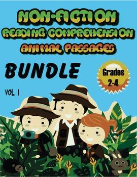 Reading Comprehension Passages Non-fiction Grades 2-4