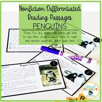 Penguins Nonfiction Reading Passages