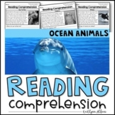 Reading Comprehension Passages - Ocean Animals