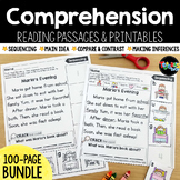 Reading Comprehension Passages & Printables BUNDLE