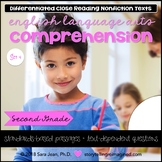 Reading Comprehension Passages & Questions Nonfiction Texts Grade 2 Set 4 Bundle