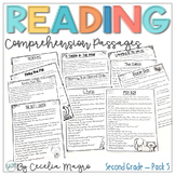 Reading Comprehension Passages and Questions Second Grade | Set 5