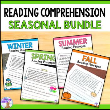 Reading Comprehension Passages - Seasons Bundle