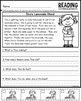 Reading Comprehension Passages - Sequencing
