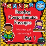 Reading Comprehension Passages- Set 1