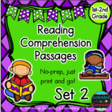 Reading Comprehension Passages- Set 2
