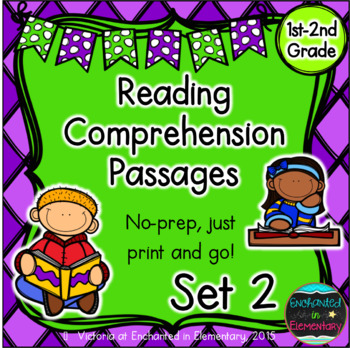 Reading Comprehension Passages- Set 2