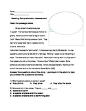 Reading Comprehension Passages Space Theme