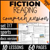 Reading Comprehension Passages: Sports {Fiction Set 7/7} I
