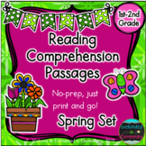 Reading Comprehension Passages- Spring Edition