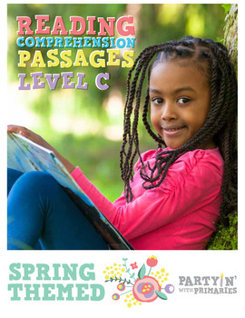 Reading Comprehension Passages Spring Themed: Guided Readi