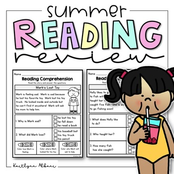 Reading Comprehension Passages - Summer Review