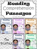Reading Comprehension Passages and Questions ~ The Bundle