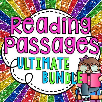 Reading Comprehension Passages and Questions ULTIMATE BUNDLE