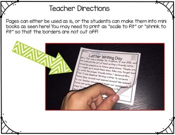 Reading Comprehension Passages Upper Elementary Back To School