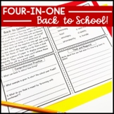 Reading Comprehension: Back to School Passages | Literacy