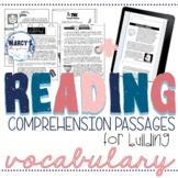 VOCABULARY activity, Context Clues Digital Reading Compreh