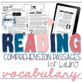 VOCABULARY & Context Clues Test Prep Reading Passages 4th
