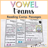 Distance Learning - Vowel Teams Reading Comprehension Passages