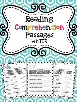Reading Comprehension Passages: WINTER